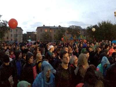 На митинге Навального в Астрахани присутствовали сотни участников