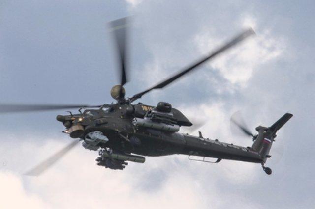 Россия впервые экспортировала модернизированные вертолеты «Ночной охотник»