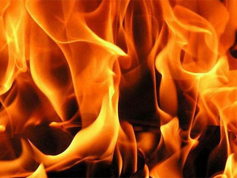 В Астраханской области сгорел жилой дом из-за газа