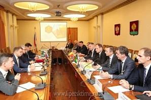 Бельгийские бизнесмены посетили Липецкую область с деловым визитом