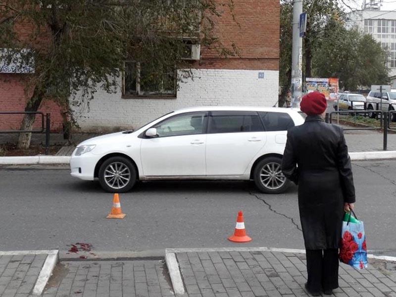 В Астрахани Hyundai ix35 сбил 94-летнюю пенсионерку