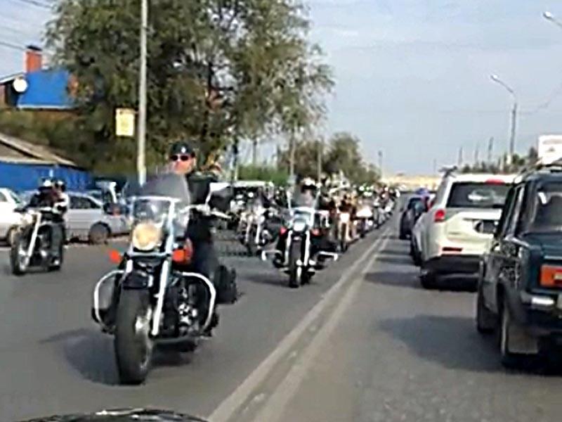 В Астрахани байкеры закрыли сезон