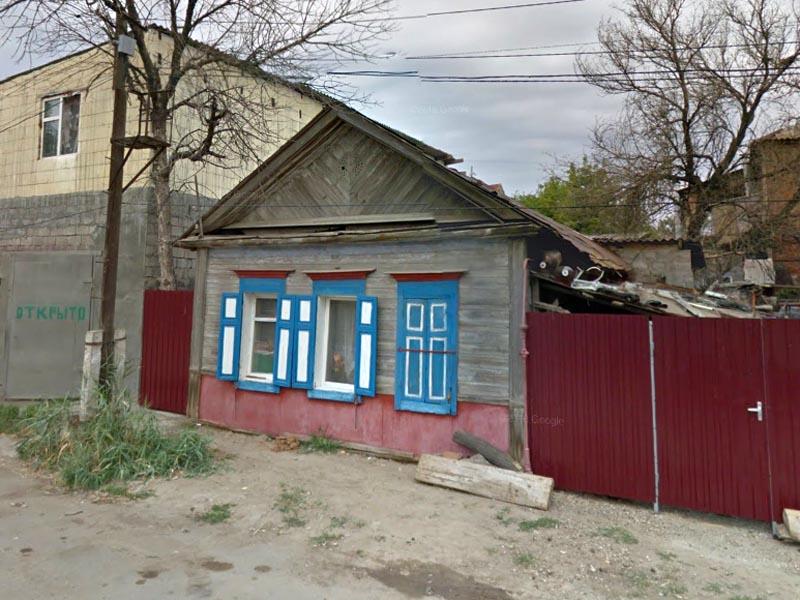 В центре Астрахани горело на большой площади