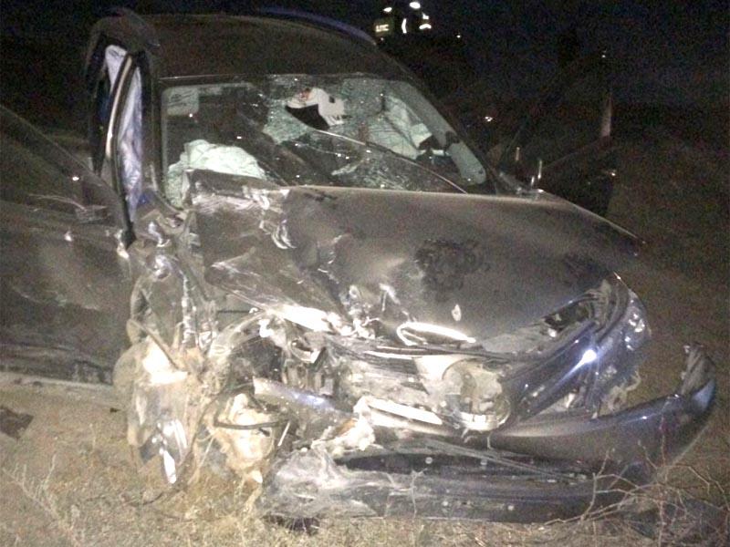 Подробности: Страшная авария под Астраханью — погиб полицейский