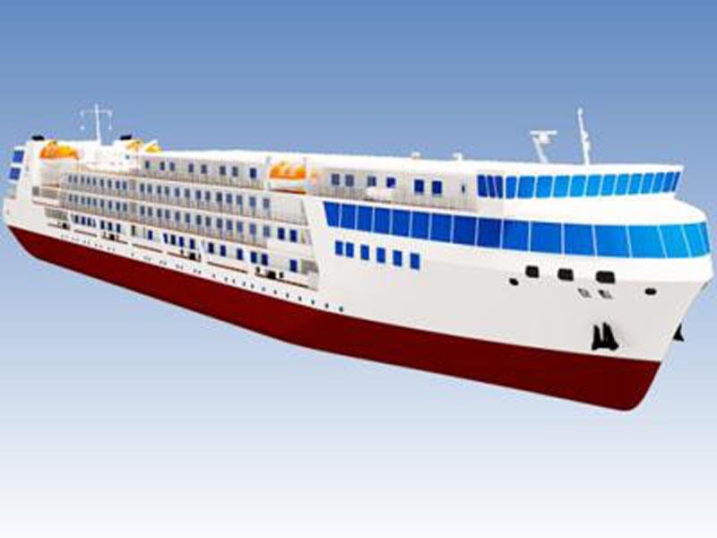 Российский морской лайнер отправится в путешествие в 2019 году