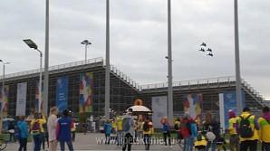 «Соколы России» выступили на молодежном фестивале в Сочи
