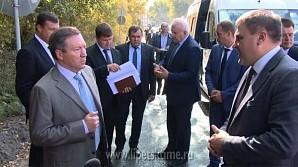 Олег Королёв проинспектировал ремонт дорог в Липецке