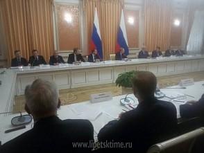 В совещании под председательством Владимира Путина принимает участие Олег Королёв