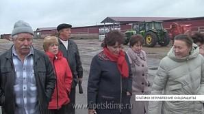 Бывшим труженикам сельского хозяйства показали современный молочный комплекс