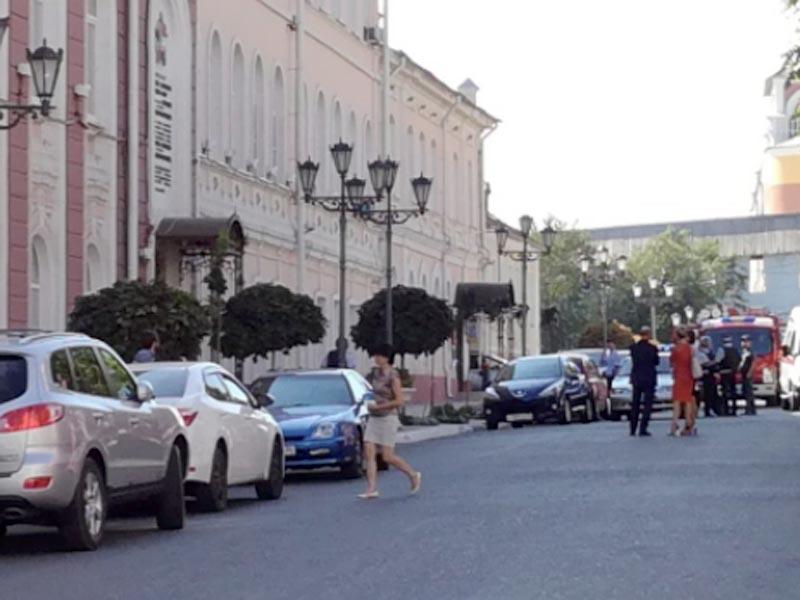 Гордуму Астрахани эвакуировали