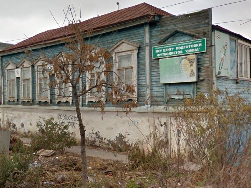 В Астрахани сгорел бывший центр подготовки футболистов