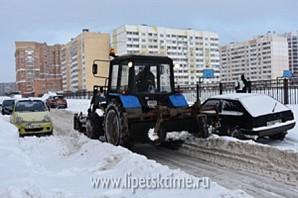 Липчан просят убрать автомобили из дворов