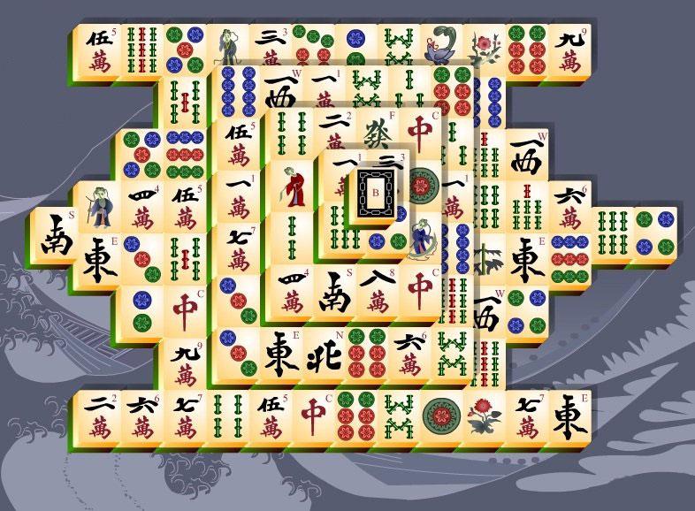 Несколько видов древней китайской игры