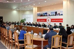 Олег Королёв провел рабочую встречу с резидентами ОЭЗ «Липецк»