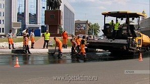 Почти 120 дорог отремонтируют в Липецкой области в 2018 году