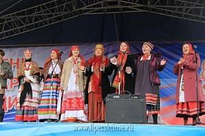 Фестиваль-форум «Народное единство» в Липецке открыл «Хоровод дружбы»