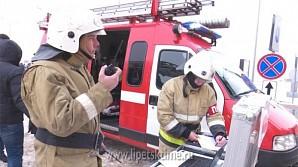 Липецкие спасатели впервые провели учения в крупном ТЦ