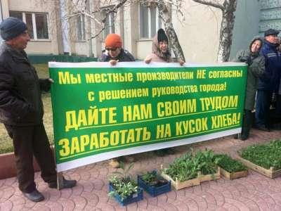 Губернатора Астраханской области призывают решить проблему с «Зеленым рынком» в районе Больших Исад