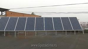 Многоэтажку в Липецке оснастили солнечными батареями