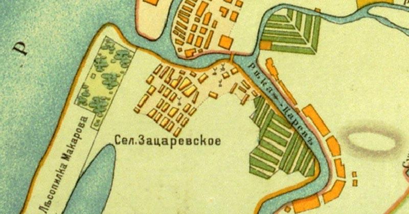 Селение Зацаревское (Тиек, ранее — Тиек-аргы-ягы)