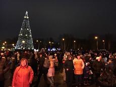 «Петровские забавы» вернули новогоднее настроение липчанам