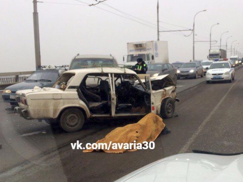 В аварии на Новом мосту погиб пенсионер