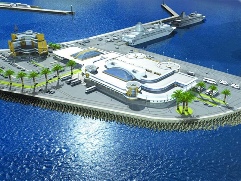 Власти пообещали построить в Астрахани морской вокзал