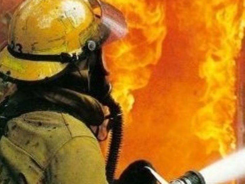 В Астраханской области неизвестный неосторожно спалил сено