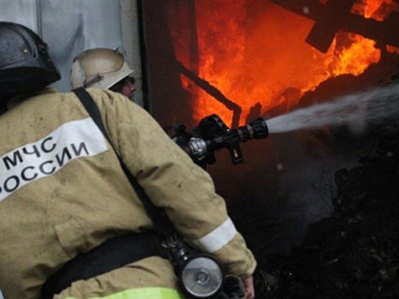 В Астраханской области сгорел жилой дом