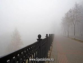 Балканский циклон принёс в Липецкую область густой туман