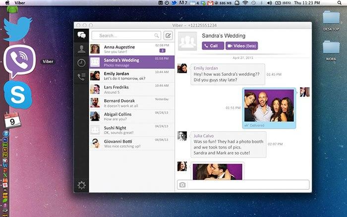 Viber для удобного общения с близкими