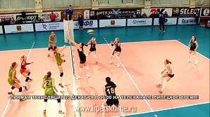Волейбольный матч в прямом эфире покажет «Липецкое время»