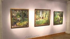 Выставка работ Виктора Сорокина открылась в Липецке