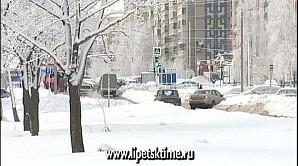 Зима возвращается в Липецкую область